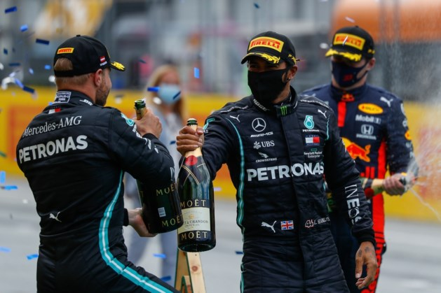 Hamilton dankbaar dat hij weer de beste is in F1-race