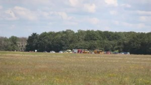 Zweefvliegtuig neergestort op Brabantse vliegbasis, piloot omgekomen