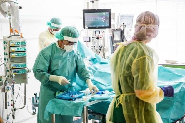 Aantal coronapatiënten in ziekenhuis weer licht gestegen