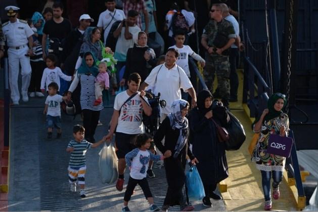 Aantal illegale migranten dat EU binnenkomt gedaald