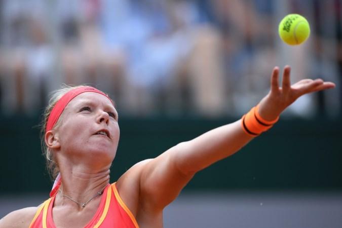 Eindelijk een tennispartij voor Kiki Bertens: 'Zodra ik weer op die baan sta, raak ik gewoon geïrriteerd'