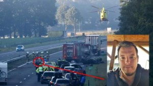 Ruud redde zwaargewonde Pool uit brandend wrak op A73: 'Hij schreeuwde van de pijn'