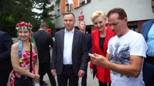 'Conservartieve Andrzesj Duda herkozen in Poolse verkiezingen'