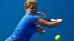 Kim Clijsters (37) boekt eerste zege na haar comeback