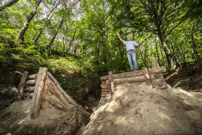 Ergernis over vernielingen in Stammenderbos; dieptepunt is een gemaakte springschans voor mountainbikers