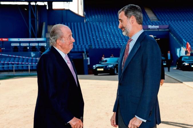 Spaanse koning Felipe verstoot zijn vader om koningschap en monarchie te redden