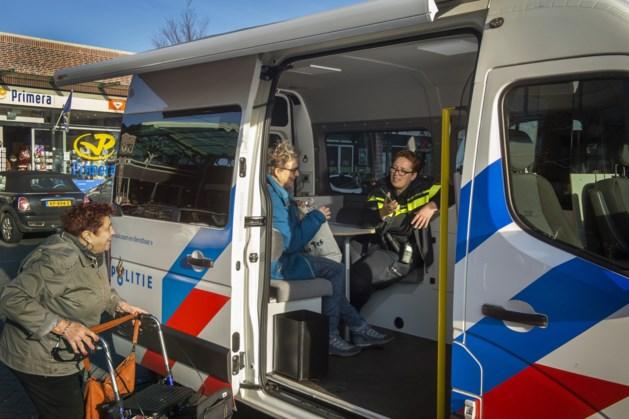 Politie woensdag weer op pad in Beek met wijkbus