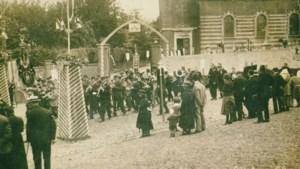 De sacramentsprocessie in Mechelen