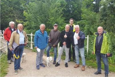 Valkenburg haalt fietsers en wandelaars op smal pad langs de Geul uit elkaar