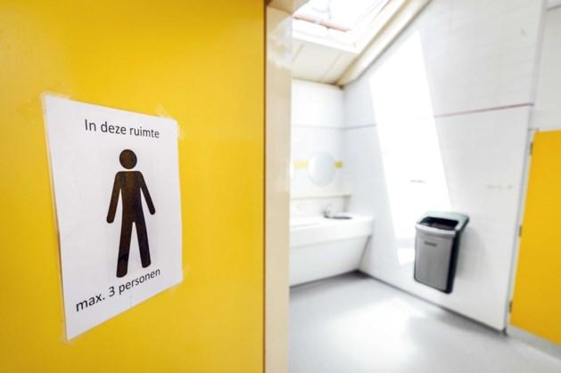 Openbare toiletten in uitgaanscentrum Valkenburg