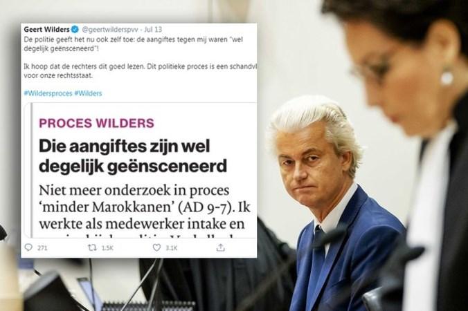 Bestaat de ex-agente die Geert Wilders steunt met ingezonden brief?
