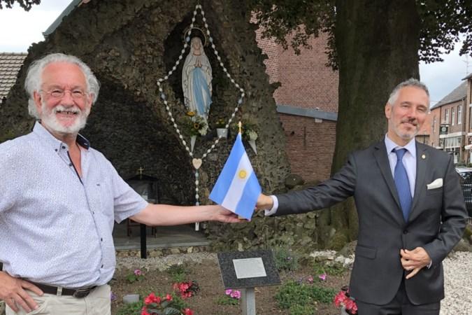 Argentijnse ambassadeur op bezoek in Banholt