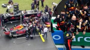 Snelle gesleutel aan Verstappens auto één grote adrenalinekick: 'Ze hadden 25 tellen over'
