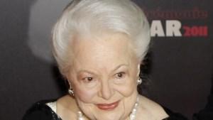 Olivia de Havilland (104), ster uit het gouden tijdperk van Hollywood, overleden