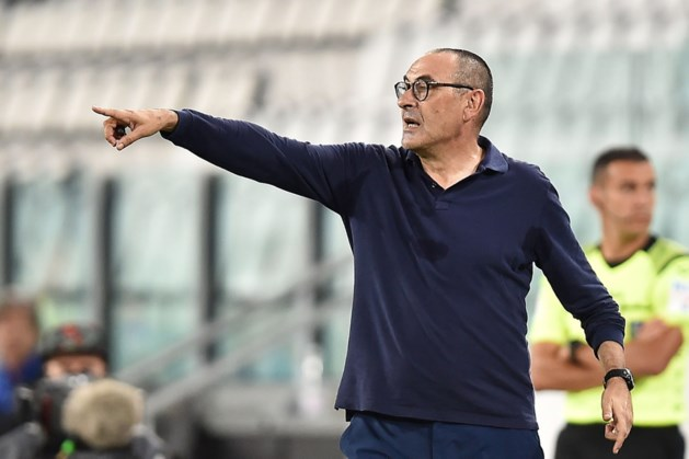 Coach Sarri van Juventus na veroveren titel: wie wint met mij, is heel sterk
