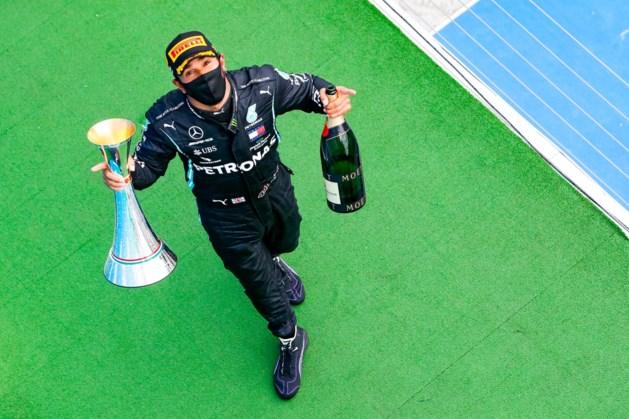 Lewis Hamilton vervolgt recordjacht op Silverstone zonder fans