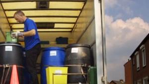 Inwoners van Stein kunnen klein chemisch afval weer gaan inleveren in hun eigen gemeente