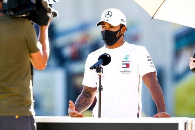 Hamilton denkt niet aan stoppen: 'Ik zie mezelf nog zeker drie jaar doorgaan'