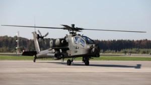 Tweede dag trainingsvluchten helikopters op Awacsbasis Geilenkirchen afgelast