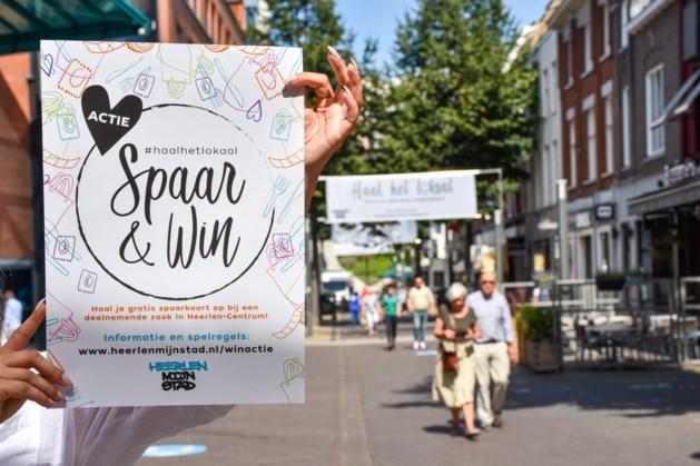 Spaar & Win Actie bij ondernemers in het centrum