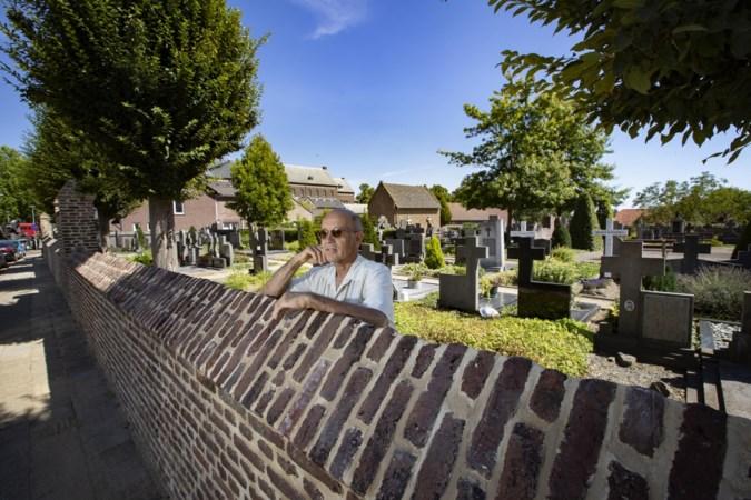 Muur om oudste kerkhof van Limburg in ere hersteld