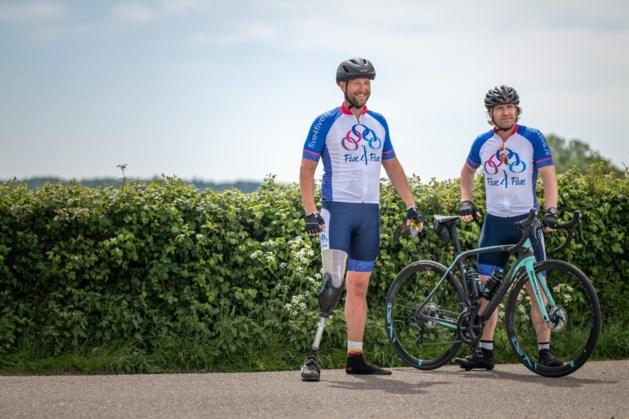 Op eigen houtje sporten voor kankeronderzoek