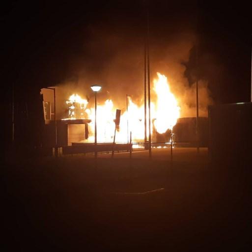 Kantine van SV Meerssen volledig uitgebrand; verslagenheid bij bestuur en in dorp is groot