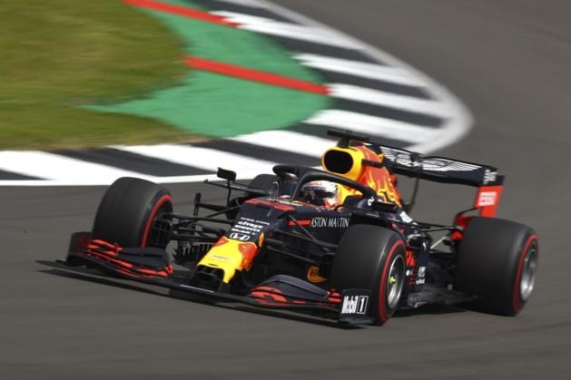 Verstappen derde in laatste vrije training Silverstone