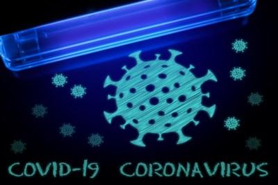 Run op de lamp die virussen doodt, ook corona
