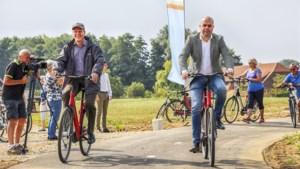 Nieuw fietspad tussen Broekhuizen en Blitterswijck geopend