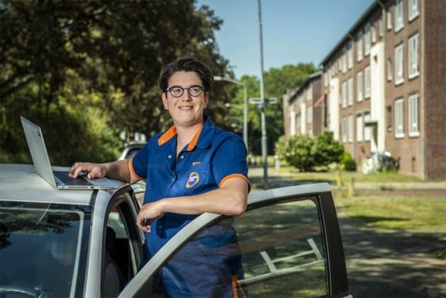 Lisette Verheijen, wijkverpleegkundige Groene Kruis Thuiszorg Blerick houdt haar hart vast voor tweede coronagolf