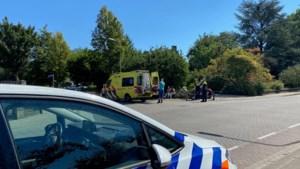 Fietser gewond na aanrijding met motor