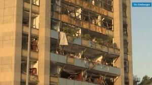 Dronebeelden: Beiroet ontwaakt in een bijna volledig verwoeste stad