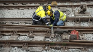 Werkzaamheden aan spoor tussen Valkenburg, Maastricht en Sittard