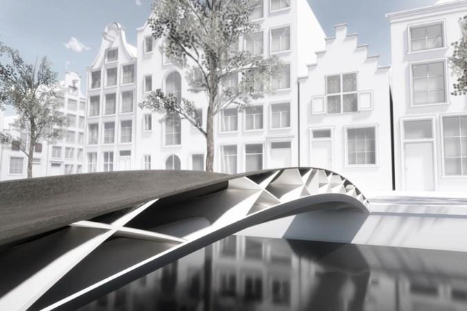 Revolutie in bruggenbouw: DSM bouwt mee aan de eerste 3D-geprinte voetgangersbrug