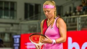 Kiki Bertens meldt zich af voor US Open: 'Gezondheid staat voorop'