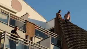 Niet barbecue maar smeulende sigaret oorzaak brand in Swalmen; bewoners vluchten naar dak