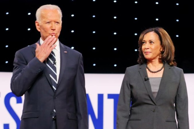 Biden wil vrouw als vicepresident, al worden daadkrachtige vrouwen niet leuk gevonden