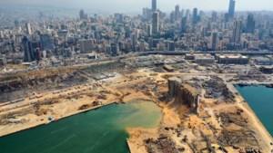 Krater door kolossale explosie in haven Beiroet is 43 meter diep