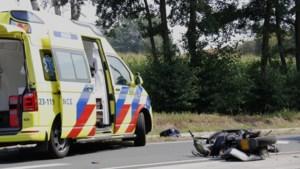 Scooterrijder zwaargewond na ongeval