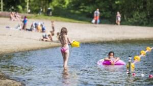 Te druk: gemeente sluit strandbad Kasteelse Bossen Horst