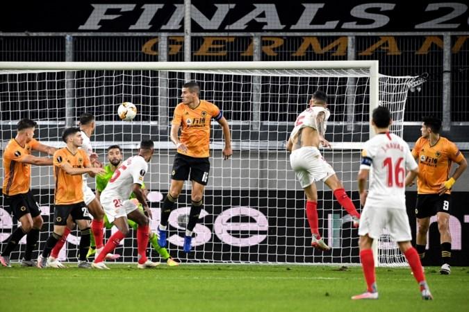 Luuk de Jong met Sevilla naar halve finale Europa League