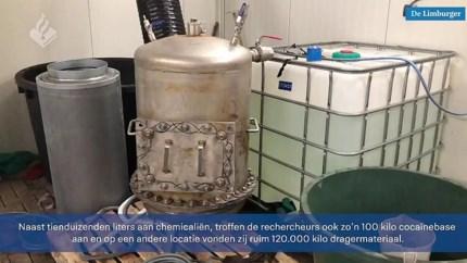 Video: Manege blijkt Nederlands grootste cocaïnewasserij, 13 Colombianen gepakt