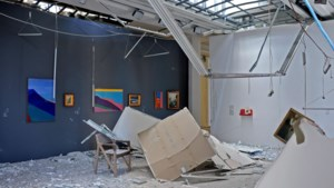 Explosie treft ook kunstsector in Beiroet hard