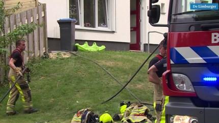 Video: Coniferenbrand in Heerlen zorgt voor forse schade