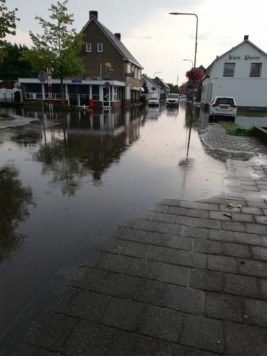 Zware onweersbui zorgt voor overlast in Limburg