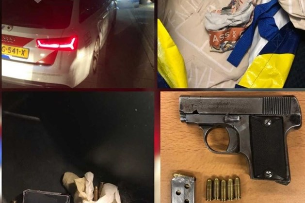 Geladen wapen en munitie in auto op A2: inzittenden opgepakt
