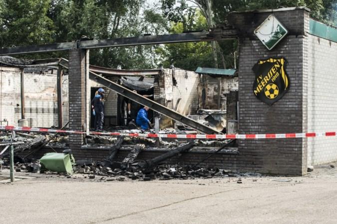 Politieonderzoek wijst definitief uit dat brand bij SV Meerssen is aangestoken