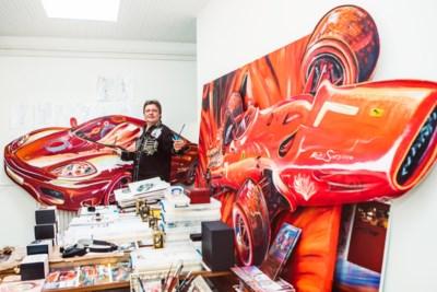 'Autokunstenaar' Saxo vernietigt bolide die ooit van miljardair Getty was