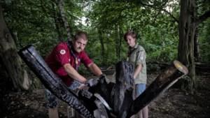 Kerkraadse scouts ontruimen hun Willivillage na actie pyromanen